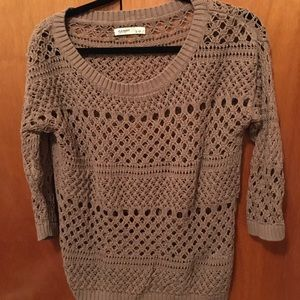 Old navy large brown sweater. Great condition